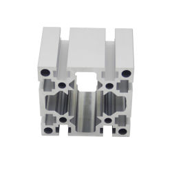 Série 6000 perfil de alumínio de extrusão de perfis de alumínio da estrutura elástico grosso