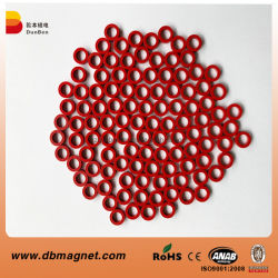 Kleiner Ring-Form-Neodym-Magnet mit Farbanstrich