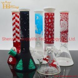 Les tuyaux à eau en verre DAB Rig pipe à eau en verre de Noël Heady Pipe en verre de décoration de Noël