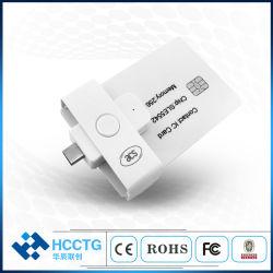 Mini Pocket Mate Contact ISO 7816 de type C USB lecteur de carte mémoire Smart (ACR39U-NF)