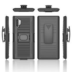 PC disco duro híbrido de TPU de armadura de cubierta para Samsung Galaxy Note 10 Teléfono Móvil de Samsung Note10 Plus