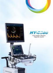 sistema diagnostico di formazione immagine 4D di colore di ultrasuono fetale di Doppler
