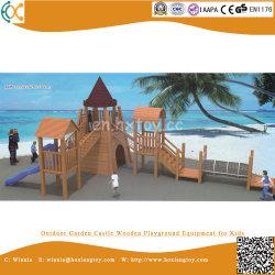 El castillo de Jardín equipos de juego de madera para niños