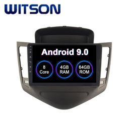 Witson Android 9.0 Radio coche Chevrolet Cruze 2008-2011 4 GB de RAM 64 GB de memoria Flash Pantalla grande en el coche reproductor de DVD