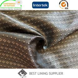 Tessuto 100% del rivestimento del corpo della ratiera del cappotto del rivestimento del vestito degli uomini del poliestere