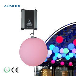 DMX RGB LED 활동적인 상승 디스코 댄스홀을%s 마술 공 빛