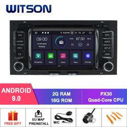 Witson Vierradantriebwagen-Kern Android 9.0 für externe Mikrofon das VW-Touareg 2002-2010 eingeschlossen, eingebaute TPMS Funktion