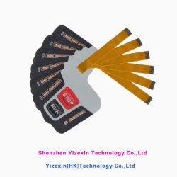 Печатная плата клавиатуры ПК Self-Adhesive мембраны из поликарбоната Graphic наложение объектива