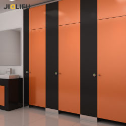 Jialifu Pure Color Office Building HPL Compact laminate التواليت Partition