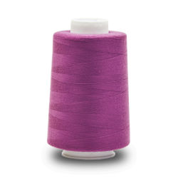 Comercio al por mayor 100% poliéster hilo de coser para Textil