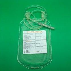 Limpar Grau Alimentício material PVC sangue saco reutilizável de bebida energética