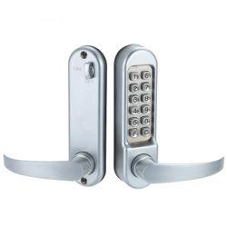 serratura di portello meccanica di combinazione di codice della tastiera 14-Button con la maniglia per il portello di legno