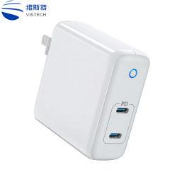 Bujão nos fixo 5V portátil 2100mA de corrente CA USB duplas carregador de telemóvel