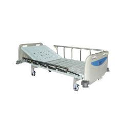 Le Rh-BS103 lit médical à bas prix Liste de prix unique de lit d'hôpital de manivelle combiné Sickbed médical