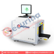 Securina máquina de rayos X en el bolso más pequeño, zapatos, el equipaje, los correos electrónicos de la inspección de seguridad de la transmisión de detector de metales de la aguja de análisis de rayos X de la máquina - Cheapest Pr