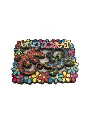Geladeira de madeira 3D promocionais dons do Magneto magneto de geladeira Adesivo Souvenir Personalizadas