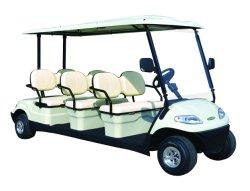 L'automobile facente un giro turistico elettrica Aohu, il bus elettrico, l'E-Automobile, colori di giro del bus di 6 Seaters è modificata secondo i bisogni del cliente