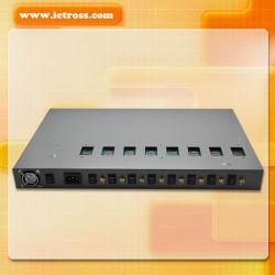 8 منافذ FXS GSM Gateway، 8 منافذ Sims GSM طرف لاسلكي ثابت