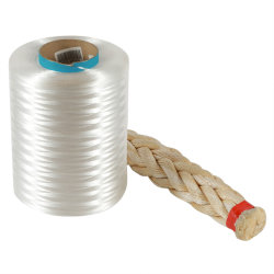 Het Polyethyleen van het Garen van Hppe van de vezel voor Kabel 1600 Denier UHMWPE Hmpe