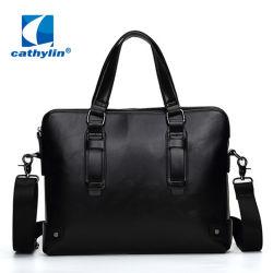 PU малых Premium кожаный портфель с замком для мужчины