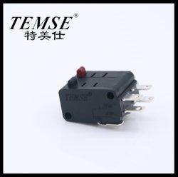 Alimentação de fábrica 29mm*15.9mm*20.7mm 16A minúsculas Dpdt Double-Micro-Switch de 6 pinos