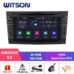 Speler van Bluetooth van de Radio van Auto 9.0 van Witson de Androïde voor AudioGPS van het Voertuig van Opel Astra Antara Vectra Corsa Zafira Meriva Vivaro Multimedia