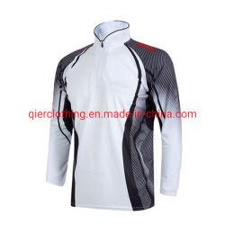 Breathable 어업은 최고 디자인 좋은 물자를 가진 긴 소매 t-셔츠 그리고 재킷을 입는다