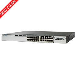 Ws-C3750X-24p-s de Schakelaar van het Netwerk van Gigabit Poe van de Haven van Cisco 3750X 24