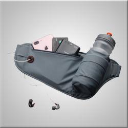 Meilleures ventes de façon étanche de remise en forme l'exécution de la courroie avec bouteille d'eau réfléchissante sac d'élingue et un poids léger Sport Fanny Pack sac banane unisexe