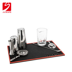 PVC Bar Mat voor Beer Promotion Personal Design on Rail