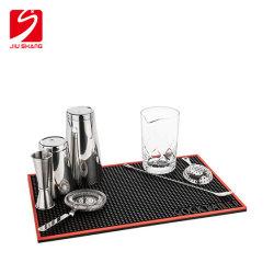 PVC Bar Mat for Beer Promotion Persönliches Design auf Schiene