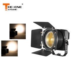 Imperméable IP65 200W Studio LED Spotlight de Fresnel de pliage