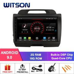 """Grande automobile DVD del Android 9.0 dello schermo di Witson 9 """" per KIA Sportage (ALTO CON 2.4L)"""