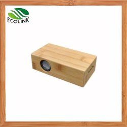 Sound Box Portable Mini haut-parleur d'induction de bambou pour téléphone mobile