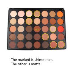 Los cosméticos Maquillaje 15 Color y brillo y mate brillan la sombra de ojos