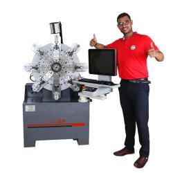 ばねを形作ることをする10の軸線CNCのCamlessばねCamless機械