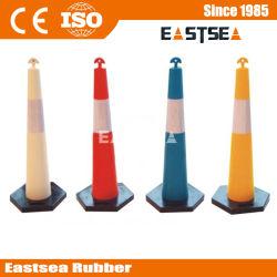Polyéthylène plastique coloré T-Top Delineator Cone Roadway Facility