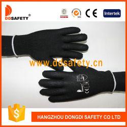 Гибкая 13 индикатора черный нейлон труда перчатки