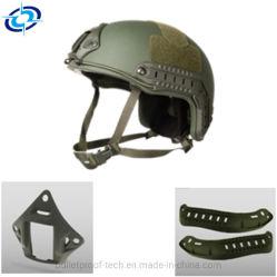 Prova de balas tácticas de aramida Kevlar capacete balísticos de Defesa militar
