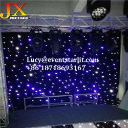 Commerce de gros Portable DIY DMX 512 rideau noir Toile de fond à LED blanche pour le parti Mariages