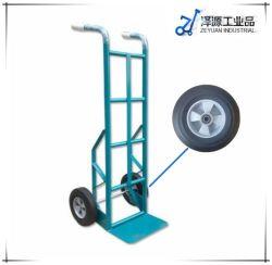 Heavy Duty pliable en acier à deux roues industrielles Outil à main chariot plate-forme