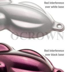 L'interférence de qualité automobile Pearl Pigment rouge clignotant