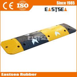 Cheap Price Black & Yellow Rubber sicurezza stradale Velocità Hump