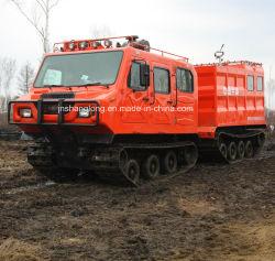 Heet! Bos Voertuig van de Sectie van het Terrein van de Brandbestrijding Al Dubbel