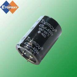アルミニウム電気分解コンデンサー105cの470UF 400Vのスナップ