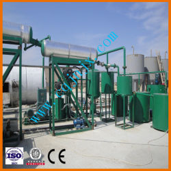Les équipements de recyclage des huiles usagées par distillation sous vide d'huile de base