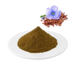 Organic Flax Seed Huile poudre lignanes Extrait de lin