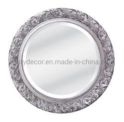 Pop miroir antique de gros décorative avec châssis ronde