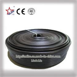 50 mm, 10 bar, schwarzer Duraline PVC-Flachschlauch