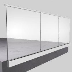 Китай производитель стекла U канал алюминиевых материалов для стекла на поручне
